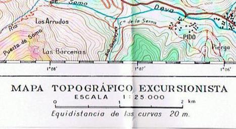 El mapa topográfico: la escala / Las curvas de nivel | tecno4 | Scoop.it