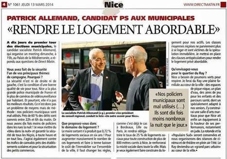"""""""Rendre le logement acceptable""""   Nice 2014, Un autre Avenir pour Nice avec Patrick Allemand   Scoop.it"""