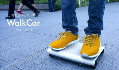 Pocket-sized personal transporters could soon be seen on the streets of Tokyo | Futurewaves | Scoop.it