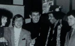 When Spock met Hendrix: 'Trek' icon Leonard Nimoy's cosmic moment - Los Angeles Times | VI Geek Zone (GZ) | Scoop.it