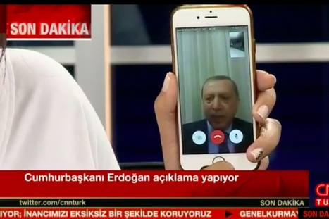 Turkey's President Survives Coup Attempt, Thanks in Part to Social Media He So Despises | digital citizenship | Scoop.it