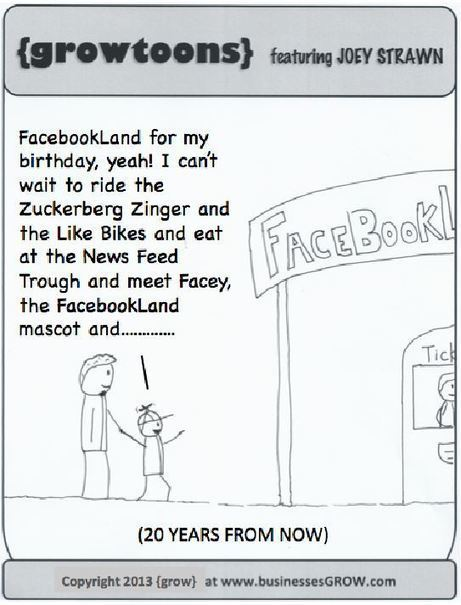 Facebookland. A {growtoon}. | Digital-News on Scoop.it today | Scoop.it