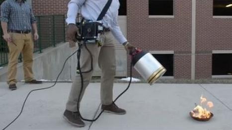 Une invention écologique permettant d'éteindre du feu grâce au son   IMMOBILIER 2015   Scoop.it