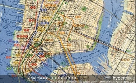 Historical Map Mashups Turn Cities Into Glass Onions of Time | references | Scoop.it