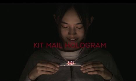 Kit Kat lance sa campagne avec hologramme | Communication transmédia | Scoop.it