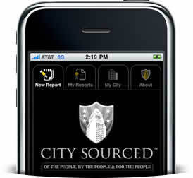 CITYSOURCED.COM - Report graffiti, potholes, trash and other civic blight with your smartphone to your public officials. | informational landscapes | Scoop.it
