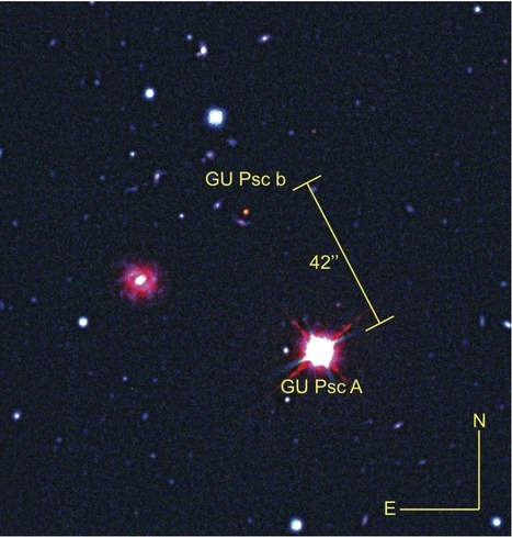 Odd planet, so far from its star | Science | Scoop.it