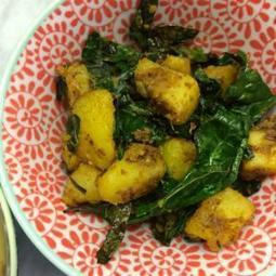 Fast & Furious Weeknight Cooking: Spiced Potatoes With Kale | My Vegan recipes | Scoop.it