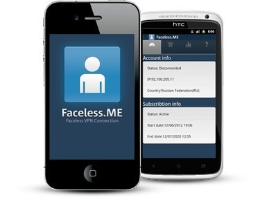 Faceless.me Anonymous VPN Service, No Logs Kept | Techy Stuff | Scoop.it
