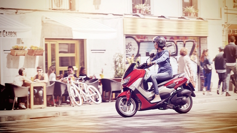 New Entry-level Yamaha Urban Scooter: NMAX | Motorcycle Industry News | Scoop.it