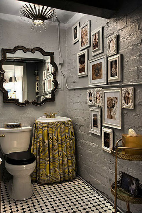 30 Small and Functional Bathroom Design Ideas For Cozy Homes   Designing Interiors   Scoop.it