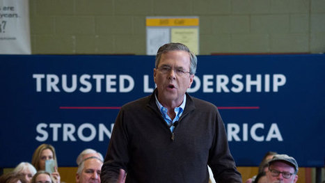 Jeb Bush tells New Hampshire how he wants to fix campaign finance reform | The New Public Administration: Arctic Bridge for Social Justice | Scoop.it