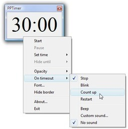 Presto's Presentation Timer | Moodle and Web 2.0 | Scoop.it
