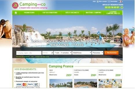 Camping and Co digitalise la réservation de camping et part à la conquête de l'Europe | ACTU-RET | Scoop.it
