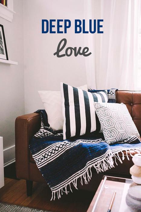Happy Interior Blog: Feeling Blue (Interiors)   Interior Design & Decoration   Scoop.it