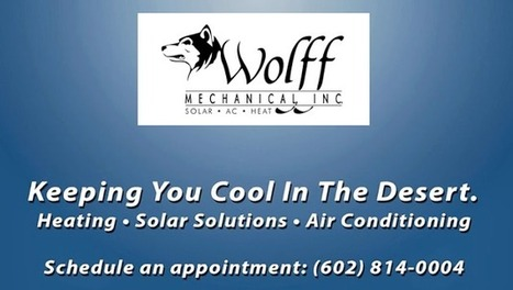 air conditioner repair in chandler | Wolff Mechanical | Scoop.it