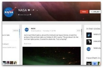 10 successful Google+ pages to emulate | Communication Advisory | Scoop.it
