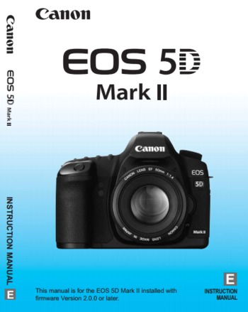 (EN) - Canon EOS 5D Mark II Instruction Manual | Google Drive | Glossarissimo! | Scoop.it