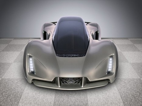 DM Blade Supercar has 3D Printed Chassis: The Arduino of Cars - Technabob (blog)   News we like   Scoop.it