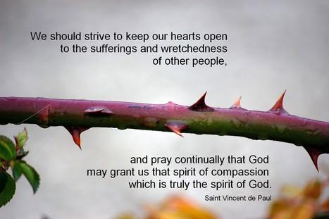 Saint Vincent de Paul Poster 3 | Resources for Catholic Faith Education | Scoop.it