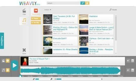 Weavly, crea mix a partir de vídeos musicales de YouTube y tracks de SoundCloud.- | Antonio Galvez | Scoop.it