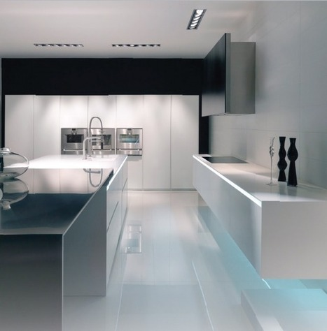 Amazing Kitchen Furniture Design from DuPont ™ Corian ® | IMMOBILIER 2014 | Scoop.it