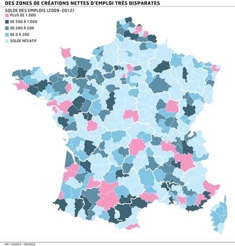 Le plein emploi existe en France – Infographie du mercredi ... | ECONOMIES LOCALES VIVANTES | Scoop.it