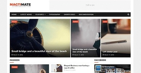 MagtiMate Free Blogger Template   Blogger themes   Scoop.it