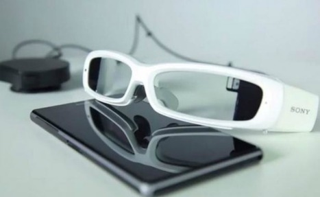 Sony lanza su primer prototipo de lentes inteligentes | Techno World | Scoop.it