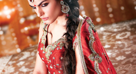 Indian Wedding Clothes | Indian Bridal Sari | Scoop.it