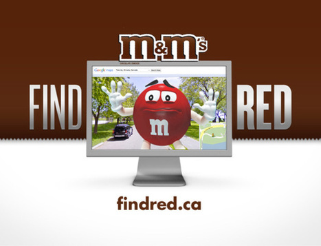'Find Red' M&M's Google Maps campaign tests social media limits - National Post   creative advertising ideas   Scoop.it