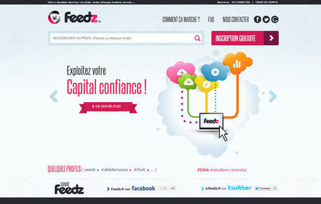 Feedz, ou comment l'#ereputation booste les ... - PressMyWeb | ereputation | Scoop.it