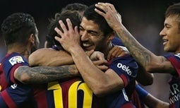 Barça 6-0 Getafe: Luis Suárez and Lionel Messi lead Barcelona rout of Getafe - The Guardian | AC Affairs | Scoop.it