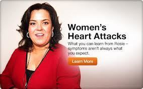 Rosie O'Donnell describes googling about heart attack symptoms | Heart and Vascular Health | Scoop.it