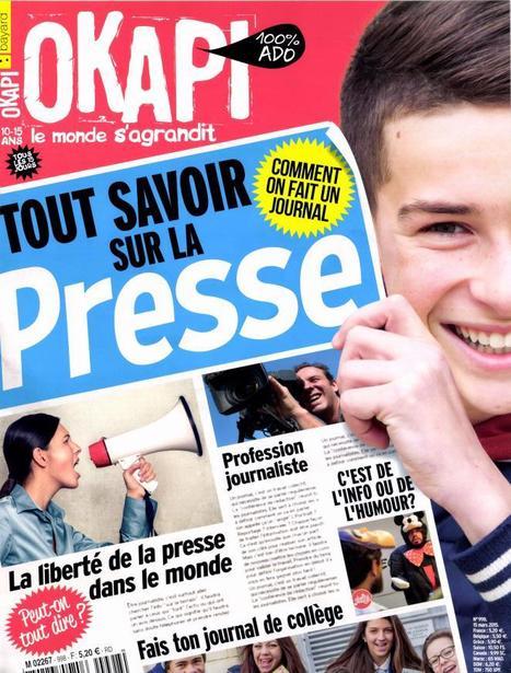 Initiatives tous azimuts pour la Semaine de la presse à l'école | DocPresseESJ | Scoop.it