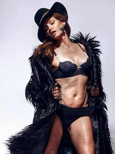 Unretouched Portrait of Cindy Crawford Sparks New Discussion About Photoshop and Beauty | xposing world of Photography & Design | Scoop.it