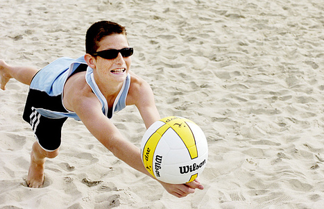 Local duo digs up silver at national beach event | Beach Volleyball | Scoop.it