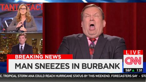 BREAKING EBOLA NEWS: Andy Richter Sneezes | Journalism Schmournalism | Scoop.it