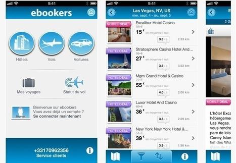 Ebookers Voyage : la réservation multi-produit sur mobile ça marche ! - TourMaG.com | Marketing digital et produits | Scoop.it