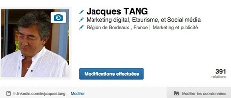 Comment optimiser mon profil Linkedin - Jacques Tang | François MAGNAN  Formateur Consultant | Scoop.it
