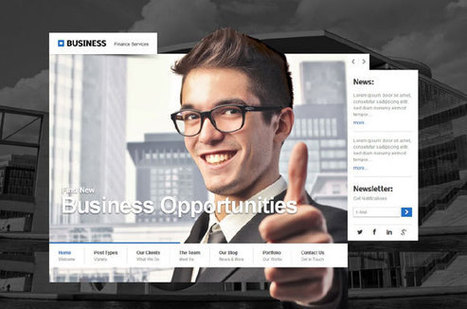 Construct - Creative Business Theme for WordPress | WordPress Premium Themes | Scoop.it