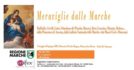 The wonders of the Marche in exhibition at Vatican | Le Marche another Italy | Scoop.it