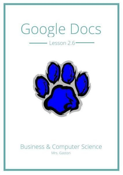 Google Docs Lesson 2.6 | Using Google Drive in the classroom | Scoop.it