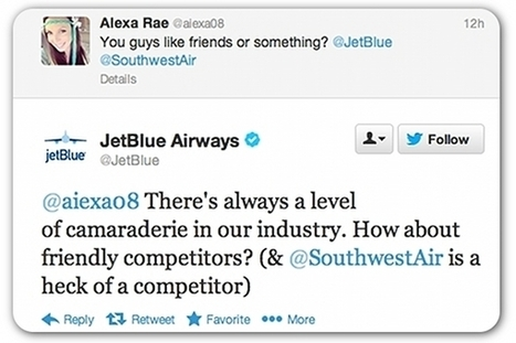 Southwest and JetBlue Exchange Words on Twitter | Business Communication 2.0: Social Media and Digital Communication | Scoop.it