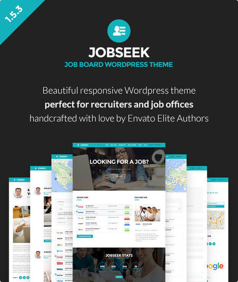 Best WordPress Job Board Themes Collection | Collection of creative themes and templates. | Scoop.it