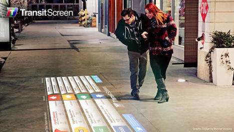 SmartWalk Turns Any Surface Into A Subway Tracker | NewMobilities | Scoop.it