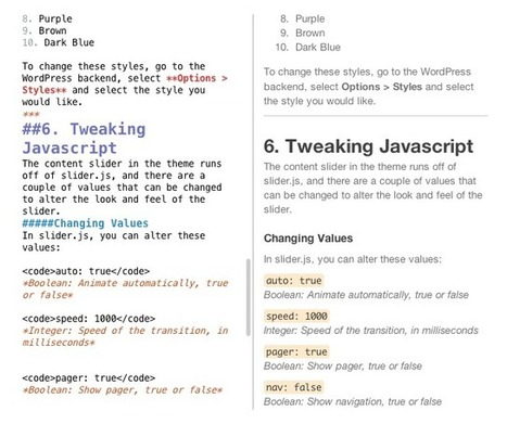 Quick and Easy Documentation Using Markdown | Webdesigntuts+ | All Javascript | Scoop.it