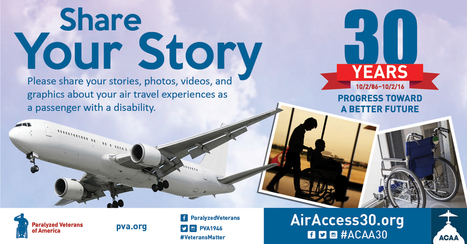 ACAA: Share Your Travel Story | Accessible Travel | Scoop.it