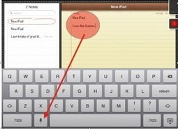 Less publicised yet MOST educational feature of New iPad! | Guiding Digital Nomads | mrpbps iDevices | Scoop.it