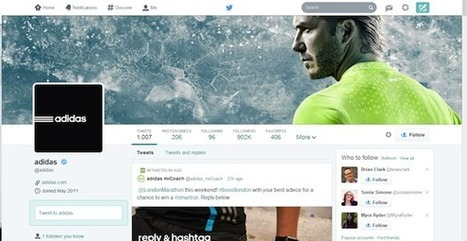 Take Advantage of Twitter's New Layout | Social Media Today | Social Media and Mobile Websites | Scoop.it